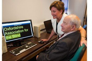 Our Patron with Colin Dexter OBE at The Campoli Centre