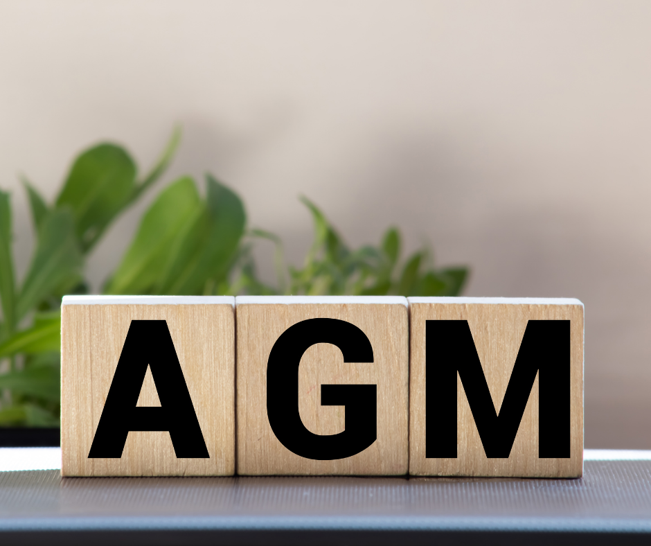 Letters AGM